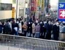 【東北地方太平洋沖地震】計画停電初日 JR三鷹駅周辺 混雑の様子