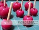 【リンゴ飴】粘土でお菓子【食べられません】