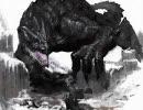ペインターでブラックドラゴン描いてみた Vol.2