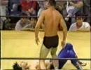 [学生プロレス]ビガー・モリタ・パンツ vs 越波辰爾