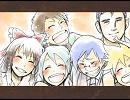 【手書き劇場】 ニコニコ動画 で 福笑い thumbnail