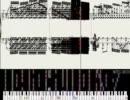 [東方]中学生と高校生がBad Apple!!の楽譜を真黒にしてみた MIDI