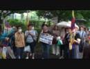 2011年5月22日フリーチベット!ンガバ弾圧停止を求めるデモ行進