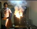 【ニコニコ動画】片桐えりりか 室内花火で大騒動!マジキチ ネ申配信 ダイジェスト 2011.6.3を解析してみた