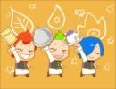 【手描き】三つ子でブリ(゜∀゜)ハマチ【ポケモン】