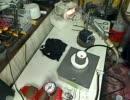 自作鋳造機で生鋳造 その1