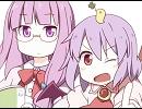 【東方】レミリアお嬢様とネコ耳パッチェだにゃん☆【手書き】 thumbnail
