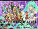 2011上半期VOCALOID新曲ランキングSP 複数・海外ボカロ編