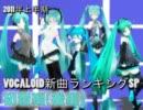 2011上半期 VOCALOID新曲ランキングSP初音編(後編)
