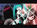 【初音ミク】ミュージックファイター初音ミクに勝手に効果音つけてみた thumbnail
