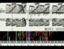 中学生と高校生がRED ZONEの楽譜を真黒にしてみたかった MIDI