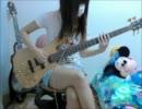 【ベース】マキシマムザホルモンのROLLING1000tOONを弾いてみた【おつぽん】
