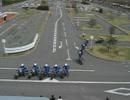 関目自動車学校 バイク指導員デモンストレーション