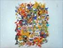 【SDガンダム】フェルトで三国伝BD-BOXの箱絵作ってみた。 thumbnail