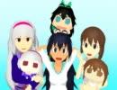 【我那覇響誕生祭】ぷちます!っぽくマル・マル・モリ・モリ!【MMD】