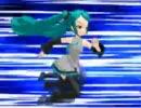 【MMD】 エイトマン走り-初音ミク-3秒