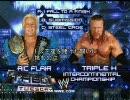 【ニコニコ動画】【WWE】(TabooTuesday2005)金網戦/ リック・フレアー vs HHH 1/2【プロレスを解析してみた