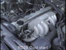 日産 絶滅危惧エンジン RD28 直6ディーゼル エンジン音 直列6気筒
