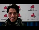 高橋大輔 Skate Canada 2011 英語インタ