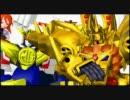 【ニコニコ動画】【MMD】黄金勇者がダンシング☆サムライを踊ったようです【二本立て】を解析してみた