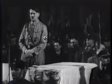 アドルフ・ヒトラー氏の演説 by ...