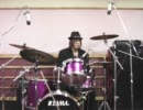 【cha_key】ドラムを叩きながら右ひじ左ひじ交互に見てみた【叩いてみた】
