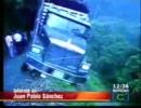 【ニコニコ動画】崖の山道に斜めに止まった大型トラック この危機をどうするを解析してみた