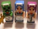 【ニコニコ動画】【 Minecraft】アイロンビーズでマインクラフトのメイドさんを作ってみた。を解析してみた