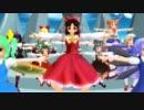 【ニコニコ動画】【MMD】ワールズエンド・ダンスホール東方を解析してみた