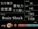 Brain Shockに太鼓さん次郎で創作譜面をつけてみた 【発狂太鼓】