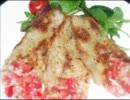 【サルサ添え】豚肉の香草パン粉焼き【作ってみた】