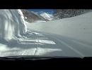【ニコニコ動画】【車載動画】雪の回廊 酸ヶ湯【青森】を解析してみた