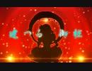 【ニコニコ動画】「東方21曲メドレー歌ってみた(影絵ver)」に色や動きをつけてみたを解析してみた