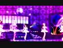 "ARARAGI Tsukihi ""Hakkin(Platinum) Disco"" feat. Yukiho, Iori, Ami, Mami and Takane"