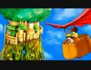 【ニコニコ動画】【ニコカラ】  【天空の城ラピュタ】 君をのせて-Acoustic ver.- 【アコギ】を解析してみた