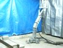 水圧筋肉ロボット:P4:四足歩行:動作:サンポート.MOV