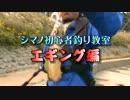 【ニコニコ動画】エギング入門 Part1を解析してみた