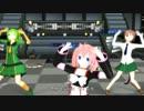 【UTAU三猫娘】きゅんっ!ヴァンパイアガール【UTAU+MMD】