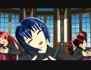 【MMD】三条さん達でgalaxias!(修正版)【魔王エンジェル】