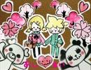 【鏡音レン┗ ∵ ┓】  桜と僕とあの子にhshsな気持ち by HoneyWorks
