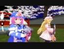 【東方MMD】ちびゆゆさま&ちびゆかりんに千本桜を踊ってもらった