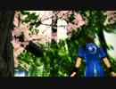 【MMD】蒼紅で千本桜【戦国BASARA】