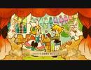 【鏡音レン・リン】兎が出しゃばる 宝石と謎とプリンセス【手描きPV】 thumbnail
