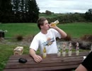 【ニコニコ動画】炭酸飲料の早飲みで予想される最悪の結果を解析してみた