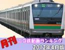 【A列車で行こう】 月刊ニコ鉄動画ランキング2012年度4月版