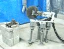 水圧軟体筋肉ロボット:P12:四足歩行:切断:サンポート.MOV