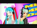 【MMD】ミクとアリスで「メランコリック EUROBEAT Ver.」 thumbnail
