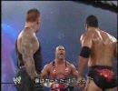 【ニコニコ動画】WWE Vengeance2002 アンダーテイカーVSザ・ロックVSカート・アングル 前編を解析してみた