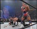 【ニコニコ動画】WWE Vengeance2002 アンダーテイカーVSザ・ロックVSカート・アングル 後編を解析してみた