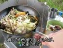【ニコニコ動画】川原で豚バラ野菜炒めてきたよを解析してみた